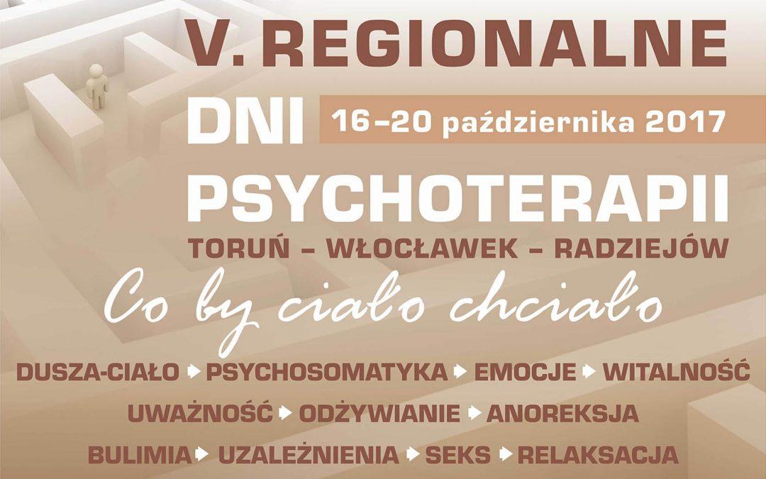 V Regionalne Dni Psychoterapii
